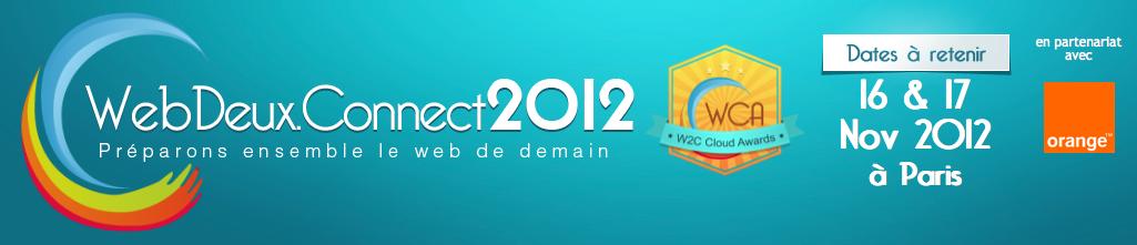 Les évènements Web à ne pas manquer en Octobre, Novembre, Décembre prochain - Web2Connect