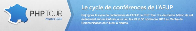 Les évènements Web à ne pas manquer en Octobre, Novembre, Décembre prochain - PHP Tour Nantes