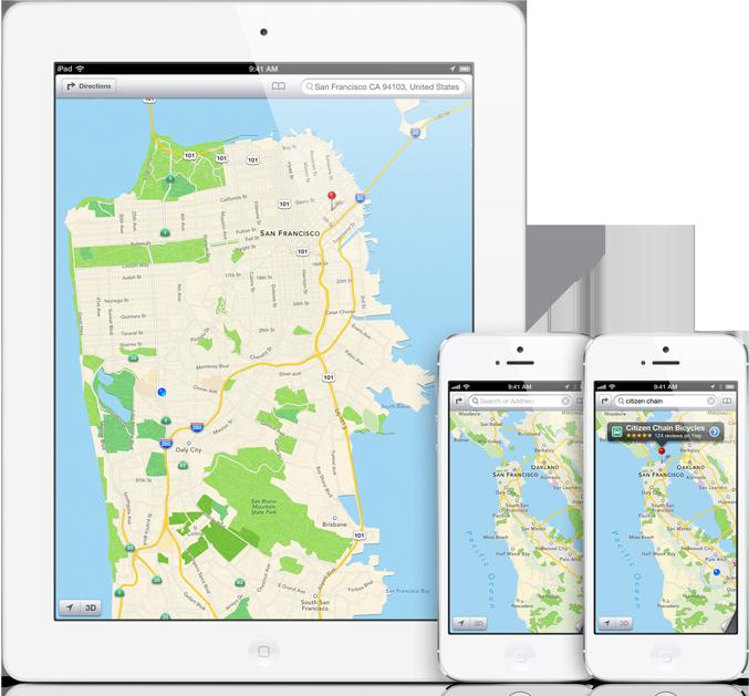 Plans ne serait pas un problème pour 90% des utilisateurs d'iOS 6