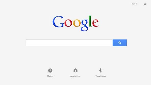 Voici à quoi va ressembler l'App Google sur Windows 8 - Google SearchBox