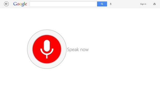 Voici à quoi va ressembler l'App Google sur Windows 8 - Recherche vocale