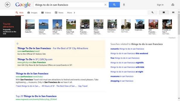 Voici à quoi va ressembler l'App Google sur Windows 8 - Voir vos recherches