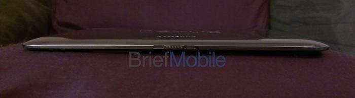 Voici ce qu'est la future tablette Nexus 10 de Samsung - Épaisseur