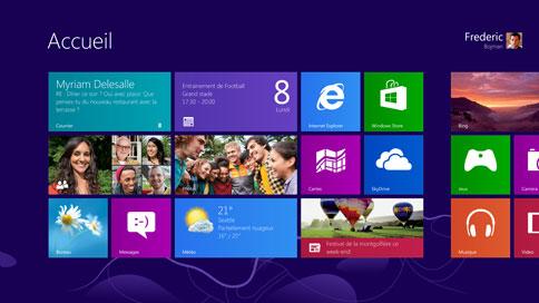 Windows 8 : Faut-il mettre à niveau votre ordinateur ? - Tuiles sur l'écran d'accueil de Windows 8