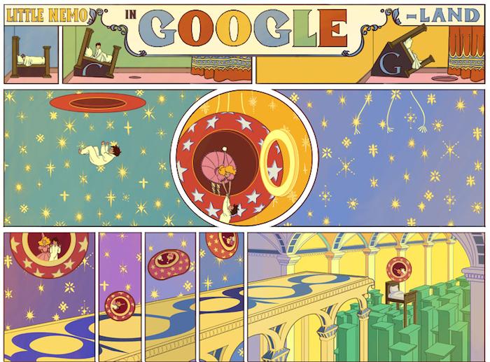 Winsor McCay en doodle du jour !