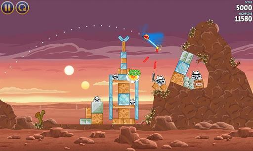 Angry Birds Star Wars est d'ors-et-déjà disponible