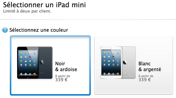 Apple annonce la vente 3 millions d'iPad Mini et d'iPad de 4ème génération durant les 3 premiers jours