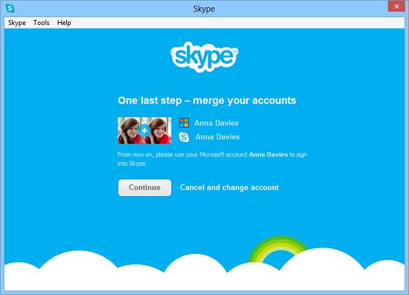 C'est officiel, Microsoft va vraiment abandonner Windows Live Messenger en faveur de Skype - Fusion d'un compte Skype et Windows Live Messenger