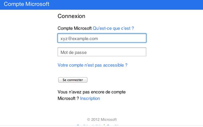 Comment fusionner vos comptes Skype et Windows Live Messenger en un compte Microsoft - Connexion à Skype