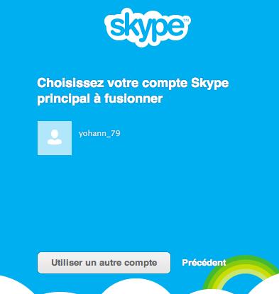 Comment fusionner vos comptes Skype et Windows Live Messenger en un compte Microsoft - Fusion d'un compte Messenger et Skype