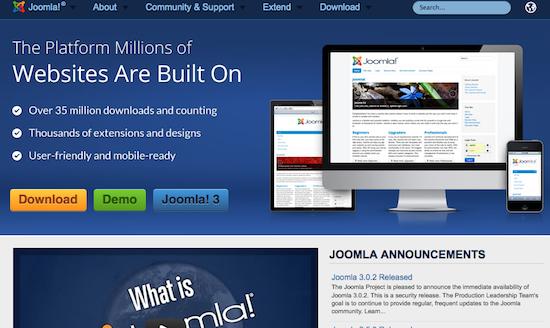 Comparaison des meilleurs systèmes de gestion de contenu (CMS) - Joomla