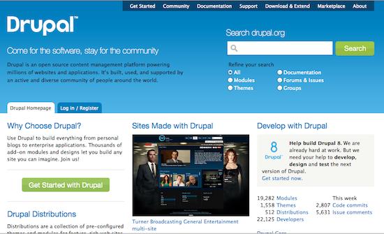 Comparaison des meilleurs systèmes de gestion de contenu (CMS) - Drupal