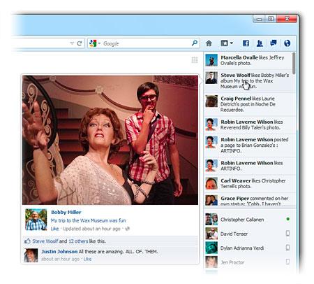 Envoyer des messages Facebook depuis votre navigateur c'est désormais possible avec Firefox