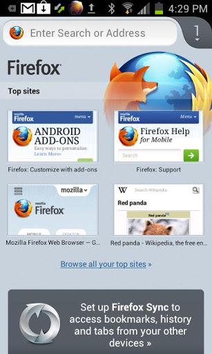 Firefox pour Android est maintenant disponible pour les dispositifs ARMv6