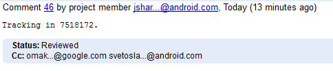 Google oublie le mois de décembre dans la mise à jour d'Android 4.2