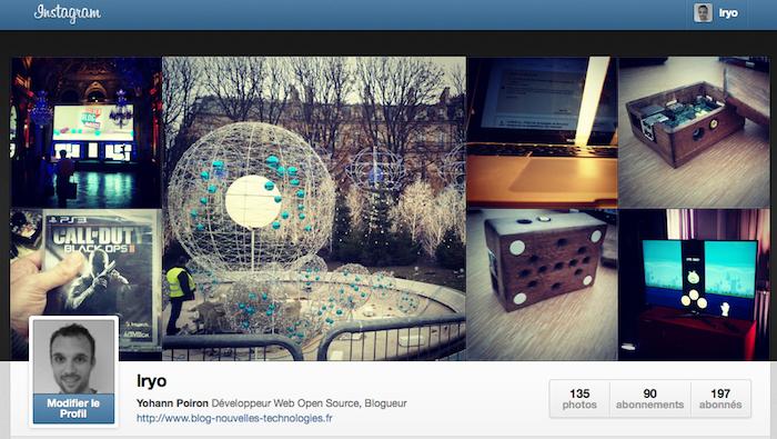 Instagram lance ses badges pour la promotion de ses nouveaux profils sur le Web