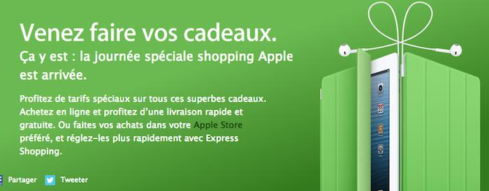 Black Friday : la journée spéciale shopping Apple c'est aujourd'hui !