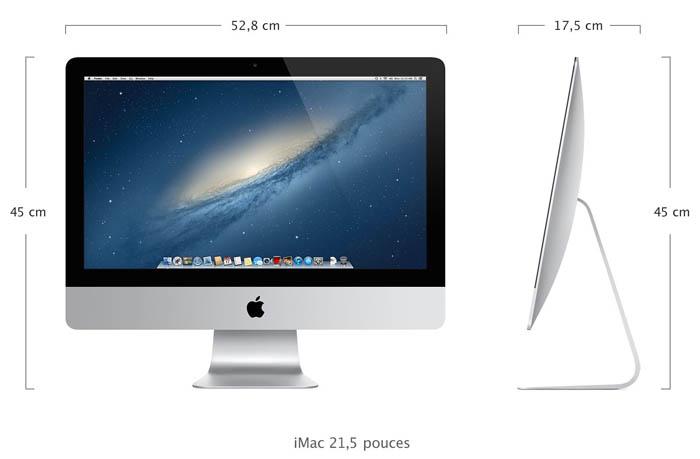 Le nouvel iMac 21,5 pouces sera disponible ce vendredi, le 27 pouces en décembre - iMac 27 pouces