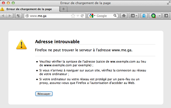 Le site Me.ga de Kim Dotcom déjà mis à mal par le ... Gabon !