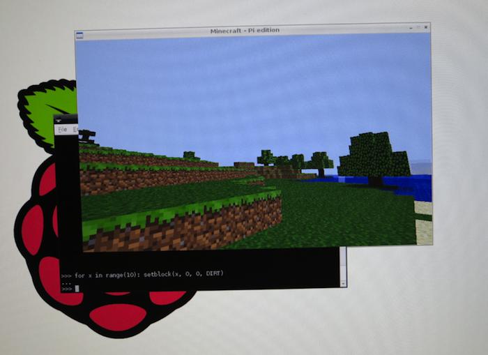 Minecraft: Pi Edition est officiellement annoncé
