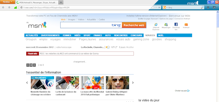 Mozilla lance Firefox With MSN - msnNOW