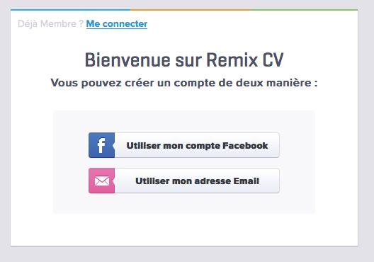RemixCV, de quoi s'afficher sur la toile de manière simple et efficace - Créer mon CV gratuitement