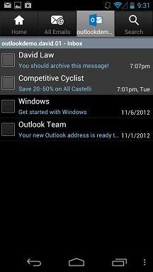 Selon Microsoft, les utilisateurs de Gmail préfèrent Outlook.com - Application Outlook pour Android