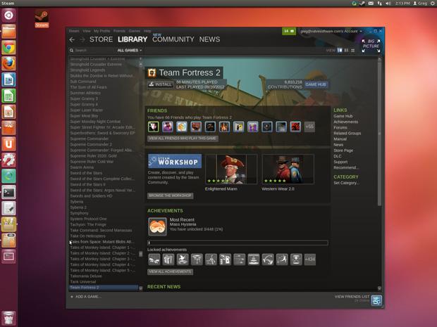 Steam pour Linux est maintenant en bêta fermée - Le premier jeu disponible dès le lancement pour tous les bêta testeurs sera Team Fortress 2