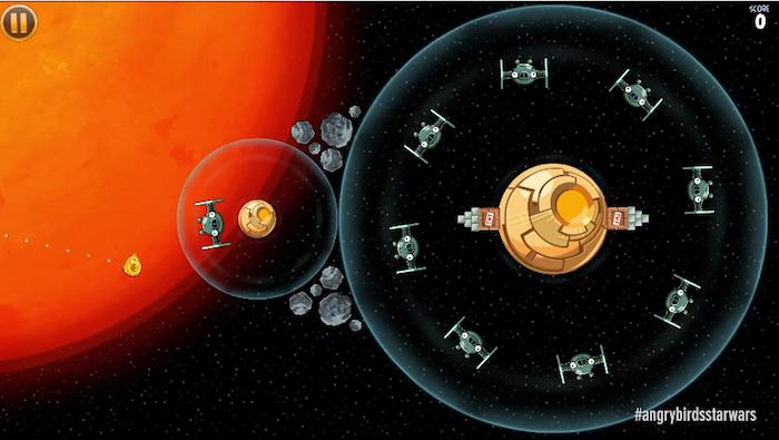 Un nouveau gameplay d'Angry Birds Star Wars est dévoilé, cette fois-ci les droids !