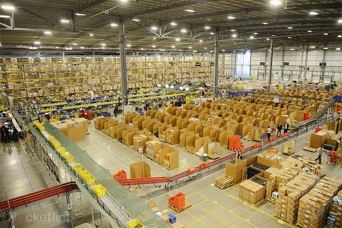 Amazon est le grand gagnant de la période des fêtes 2012