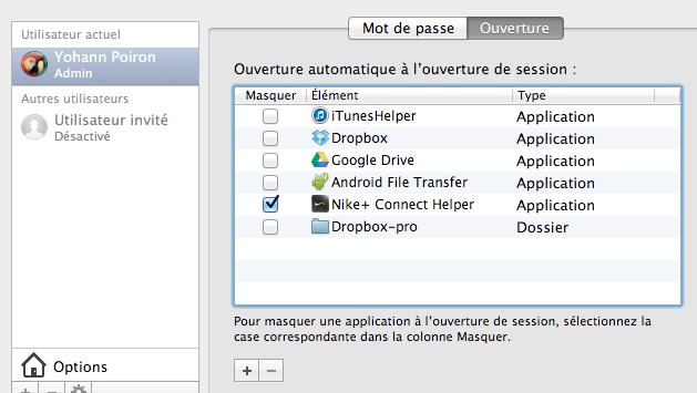 Comment faire pour utiliser plusieurs comptes Dropbox sur un seul ordinateur - Lancement du script lors de l'ouverture de votre session
