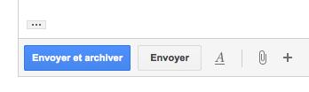 Gmail valide 3 fonctionnalités du Labs - Envoyer et archiver