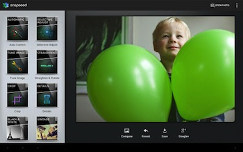 Google lance Google+ Communautés, et Snapseed Pour Android - Snapseed