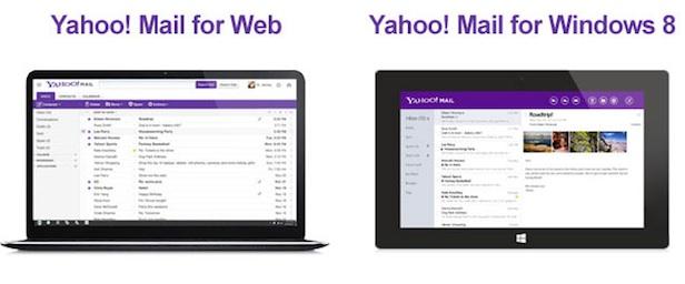 Le nouveau design de Yahoo! Mail est maintenant disponible pour tous - Yahoo! Mail sur Web et Windows 8