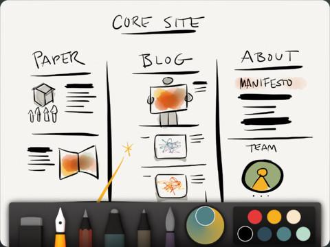 Les meilleures applications de productivité pour votre nouvel iPad - Paper