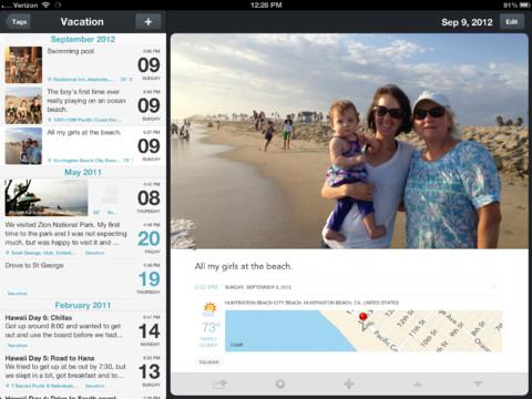 Les meilleures applications de productivité pour votre nouvel iPad - Day One