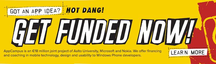Microsoft et Nokia investissent 18M d'euros dans le développement d'apps mobiles en trois ans