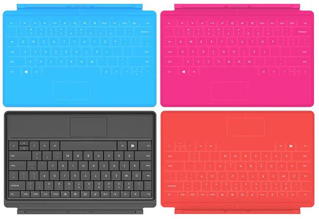 Microsoft Surface RT : une tablette hybride bien surprenante - Claviers supplémentaires : Type Cover et Touch Cover