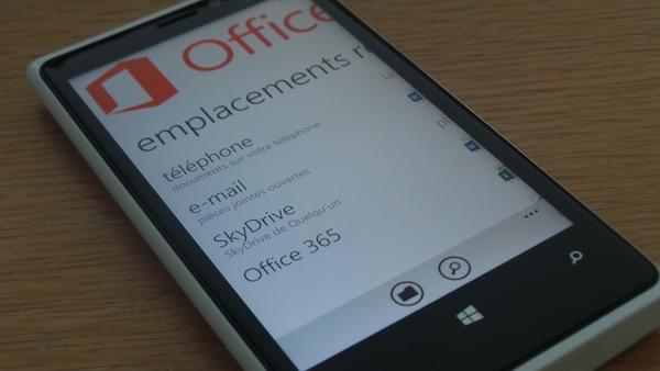 Nokia Lumia 920 : Un téléphone élégant, puissant et pensé pour la photo - Lancement d'Office sur Windows Phone 8