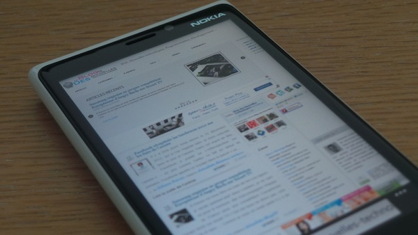 Nokia Lumia 920 : Un téléphone élégant, puissant et pensé pour la photo - Navigation fluide sur IE10