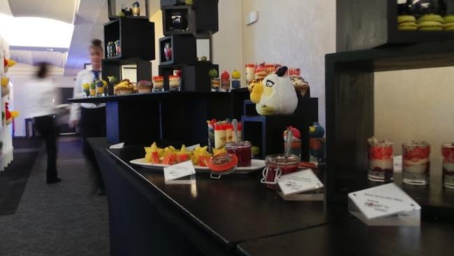 Retour sur le Angry Birds All Star Final à Londres sur Samsung Smart TV - Déco et buffet sympa sur thème d'Angry Birds
