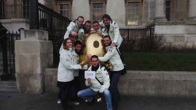 Retour sur le Angry Birds All Star Final à Londres sur Samsung Smart TV - Équipe de France à la recherche de l'oeuf doré