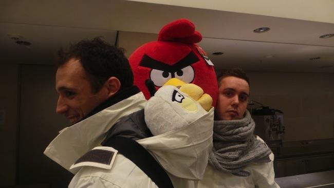 Retour sur le Angry Birds All Star Final à Londres sur Samsung Smart TV - Découverte du British Museum