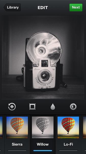 Une mise à jour d'Instagram permet d'améliorer l'appareil photo, ajoute un nouveau filtre - Arrivée du filtre Willow