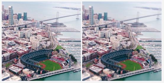 Une mise à jour d'Instagram permet d'améliorer l'appareil photo, ajoute un nouveau filtre - Amélioration de l'effet tilt-shift