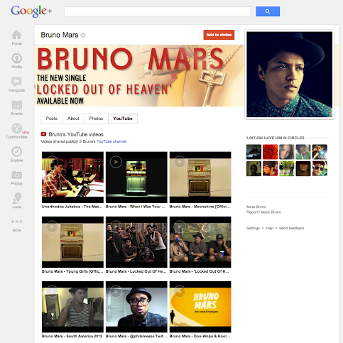 YouTube et Google+ encore plus intégrés