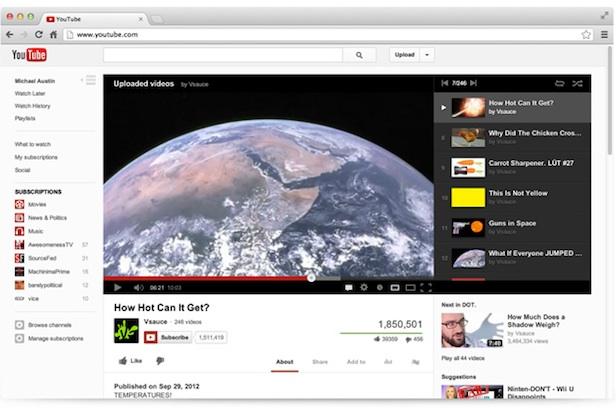 YouTube Guide arrive sur tous les dispositifs, et le site reçoit une mise à jour