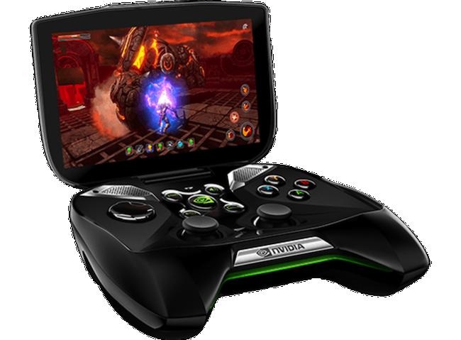 CES 2013 : Nvidia dévoile le Project Shield une console portable avec Google Play et Big Picture