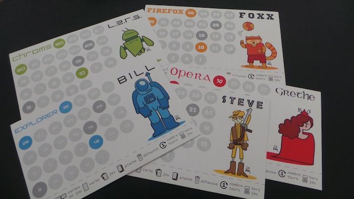 Concours : cHTeMeLe, le jeu totalement addictif et éducatif dédié à l'HTML - Plateaux de jeu