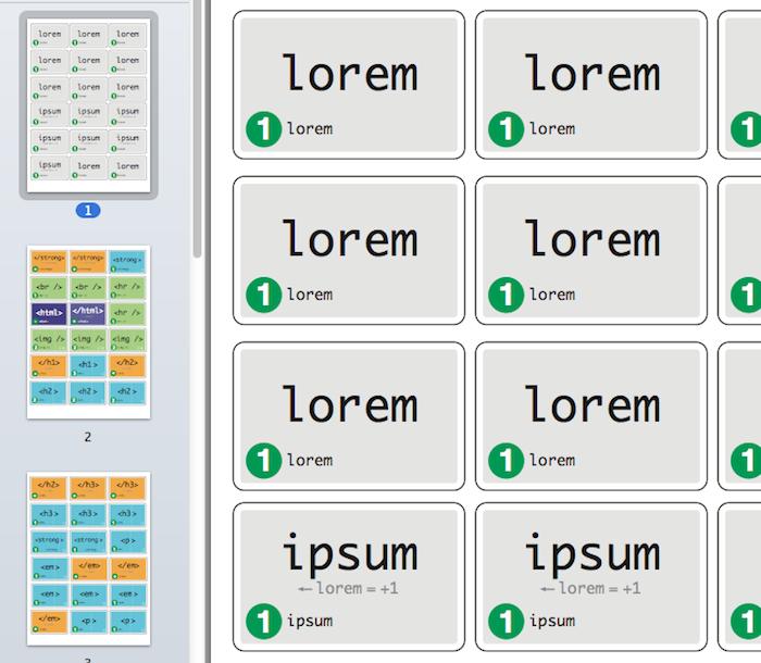 Concours : cHTeMeLe, le jeu totalement addictif et éducatif dédié à l'HTML - Fichiers PDF du jeu à imprimer
